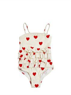 mini rodini heart bathing suit