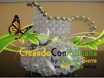 PERLAS TEJIDO CON VOLUMEN - CREANDOCONADRIANA
