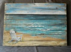 Beach Wall Decorations are a quick way to upgrade Beach Home Decor!