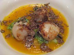 Bistrot de Venise: capesante scottate su crema di zucca  www.bistrotdevenise.com