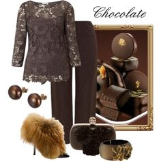 """""""Chocolate"""" by mary-rt on Polyvore"""