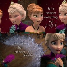 """""""For a moment, everything was perfect. And then that moment ended."""" Frozen/Tangled crossover."""
