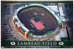 sale retailer 54493 90b3f Lambeau Field, Green Bay, WI - The Obvious Must while visiting Titletown.  Visit