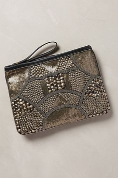 Bohdana Stud Clutch - anthropologie.com