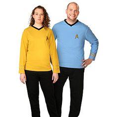 ThinkGeek :: Officially Licensed Star Trek Pajama Set