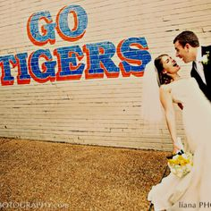 An Auburn wedding! War eagleeee