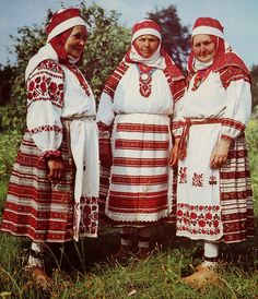 FolkCostume&Embroidery: Overview of the Folk Costumes of Europe, Belarus