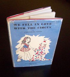 Vintage Circus Book  We Fell In Love With by MoonkittensTimeline, $75.00