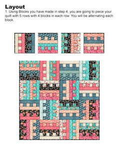 All Zipped Up - Free Quilt Pattern - Jelly Roll