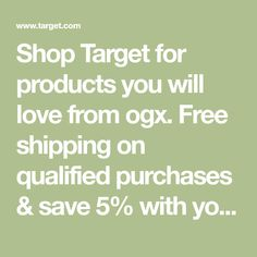 Shop Target for products you will love from ogx. Free shipping on qualified purchases & save 5% with your Target REDcard. Best Curl Products, Ava, Target, Free Shipping, Shop, Pantry Storage, Hair Cut, Fragrances, Beauty