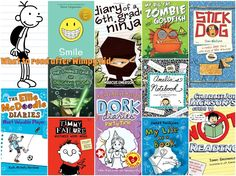 What to give you child to read after he finishes all of Jeff Kinney's Diary of a Wimpy Kid. ABookLongEnough #MedinaLibrary #ChapterBooks