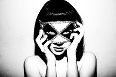 The Dirty Side Of Glamour, Emma Roberts Mask (TylerShields.com)