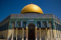 Dome of the Rock in Jerusalem, Israel. Photo by Victorgrigas in August 2011 (Wikimedia)