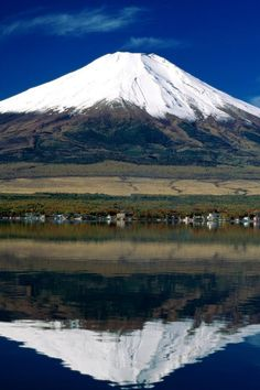 Mount_Fuji. I'll never forget seeing it on my way home from Nam in '70.