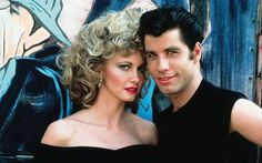 """Olivia Newton-John and John Travolta reunited Friday dressed as their characters Sandy and Danny from their classic, 1978 musical """"Grease"""" Musical Grease, Grease Movie, Movie Tv, Movie Photo, Musical Film, Lego Movie, Danny Zuko, Olivia Newton John, John Travolta"""