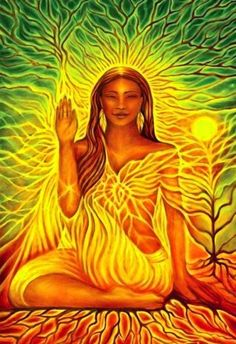 "Divine Spark: ""When you possess #Light within, you see it externally."" ---Anaïs Nin (art;angela.treat.lyon)."