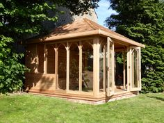 12ft Lined and insulated cedar summerhouse