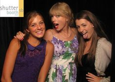 Taylor Swift made it into the the ShutterBooth this year!