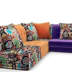 too cushy? Floor Seating, Soft Seating, Mah Jong Sofa, Modul Sofa, Cool Chairs, Creative Home, Living Room Sofa, Sofa Furniture, Sofa Set