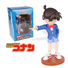 Japanese Anime Detective CONAN Action Figures Collectibles PVC Figure Anime Figures by Creative Craft. $29.99. Please note:High quality from China,Reference figure in the band box diagram. Detective CONAN. Be made with material  PVC·ABS. Can be equipped with pedestal movable!!! Props!. The size details: figure height:21cm. This action figure is made from high quality, also as a great gift on Christmas,birthday or other holidays.