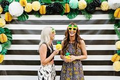 Summer Birthday Party Ideas Pineapple Themed Party
