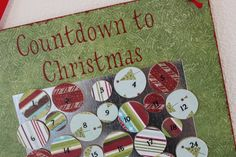 Craft Affection - countdown to christmas