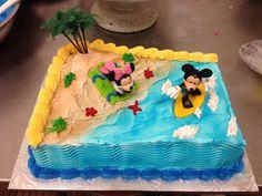 Mickey and minnie surf