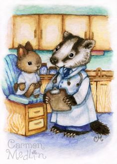 Doctor Animal Art: Checkup – Carmen Medlin