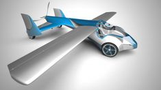 Bet you wish you had one of these this morning - Flying car
