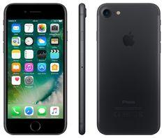 Apple iPhone 7 SIM-Free Smartphone Matt Schwarz 32GB (Zertifiziert und Generalüberholt) von Apple EUR 515,50