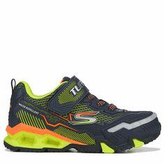 3fe57aa1512 Skechers Kids  Hydro Lights Sneaker Pre Grade School Shoes (Navy Yellow)