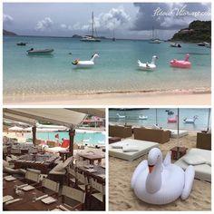 O espaço utilizado para a despedida de solteiro de Helena Bordon e Humberto Meirelles foi o restaurante do hotel Le Sereno, em St Barths. O restaurante era voltado para a praia, onde os convidados ficaram para se divertir.