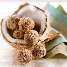 Coconut-Dark Chocolate Truffles
