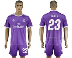 http://www.yjersey.com/201617-real-madrid-23-danilo-away-soccer-jersey-hot.html #2016-17 REAL MADRID 23 DANILO AWAY SOCCER JERSEY HOTOnly$35.00  Free Shipping!