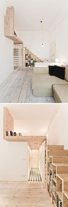 312 square feet in Wroclaw, Poland / architecture firm 3XA ph: S. Zajackowski