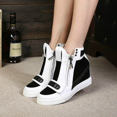 16f517c25126 sneakers 2016 - Cerca con Google. Girls SneakersWedge SneakersFashion Shoes TrainersHigh HeelsProm Dresses