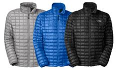 Thermoball Insulated jackets! These are amazing lightweight but super warm. #thenorthface #fall2013 #fashionformen #2013mensfashion #menswear #thermoball #mensjackets #thermoballjacket