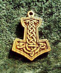 The original Celtic pendant  Thor's hammer mjolnir by ZanozaShop, $12.00