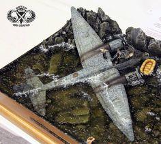 Ju-188 1/35 Scale Model Diorama
