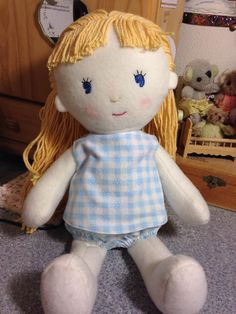"Anna""Made-it"" doll for your little one!"