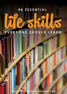 Do you have the skills it takes to be an adult? Some of these take a little bit of living life to learn but a great list for someone who is a work in progress. lessons for adults 48 Essential Life Skills Everyone Should Learn Life Skills Lessons, Life Skills Activities, List Of Skills, Important Life Lessons, Skills To Learn, Life Skills Kids, Study Skills, Thinking Skills, Critical Thinking