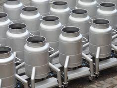 175 litre Kapasiteli Mobil Pot Tankları   Füzyon Makina