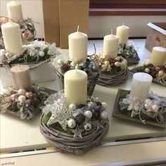 Candle centerpiece repinned by www.landfrauenverband-wh.de #landfrauen #landfrauen wü-ho