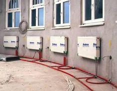 Монтаж отопления с нижней разводкой Central Heating, Closet Bedroom, Heating Systems, Alternative Energy, Renewable Energy, Cabana, Engineering, Workshop, Floor Plans