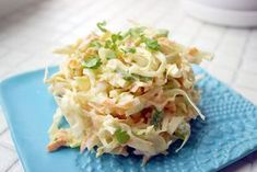 Kulinaari: Kulinaarin kevyempi Jogurtti-Coleslaw. Takana, Coleslaw, Pasta Salad, Potato Salad, Cabbage, Potatoes, Vegetables, Ethnic Recipes, Food