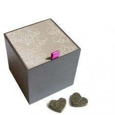 Tea Hearts Giftbox - Gold @ www.harten8.com