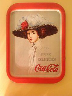Coca-Cola Tray - Lady