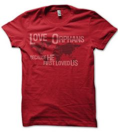 Forget the Frock...instead of buying an Easter dress, buy a shirt from Feeding the Orphans or other orphan care organizations so the money goes to orphan's needs and you make a statement for orphaned children!