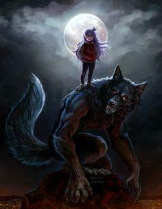 World of Wolfs and Werewolfs Photo: Werewolf Dark Fantasy Art, Fantasy Wolf, Arte Furry, Furry Art, Anime Wolf, Character Inspiration, Character Art, Character Design, Wolf Hybrid