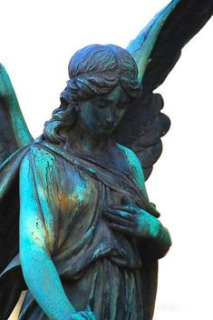 ☫ Angelic ☫ winged cemetery angels and zen statuary - Cologne, Germany Cemetery Angels, Cemetery Statues, Cemetery Art, Old Cemeteries, Graveyards, I Believe In Angels, Angels Among Us, Mystique, Guardian Angels